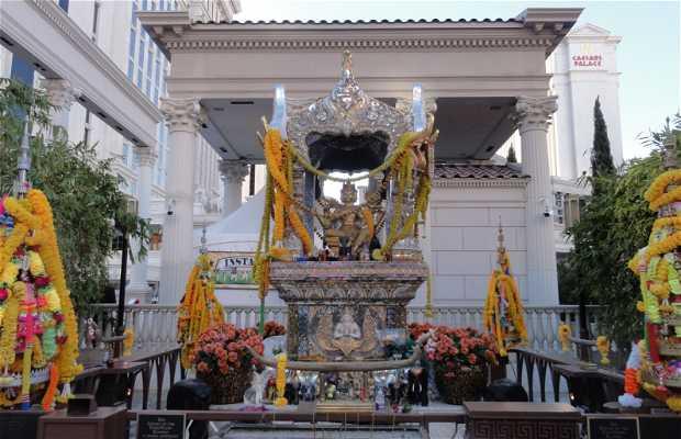 Templo Budista en el Cesars Palace de las Vegas
