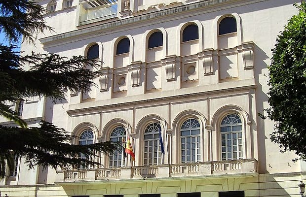 Teatro Lopez di Ayala a Badajoz in Spagna