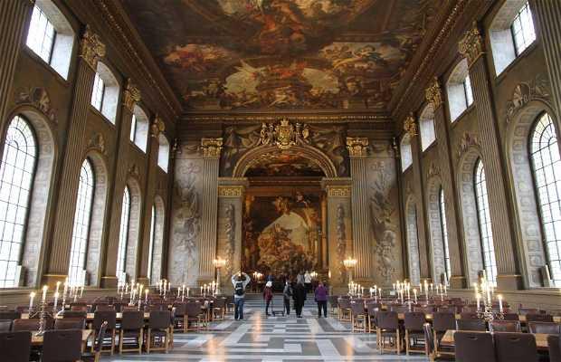 El Salón Pintado-The Painted Hall en Greenwich