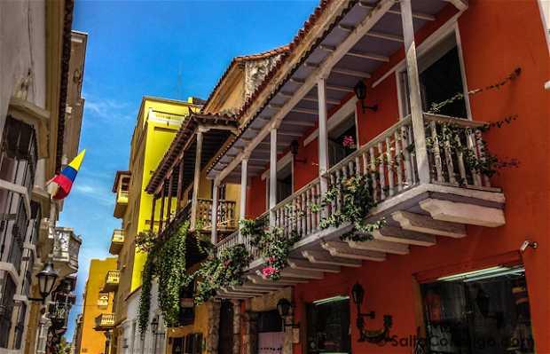 Calle Santo Domingo, Cartagena de Indias