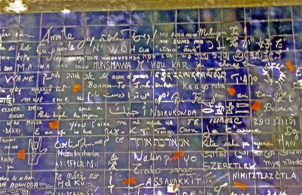 Muro de los Te quiero