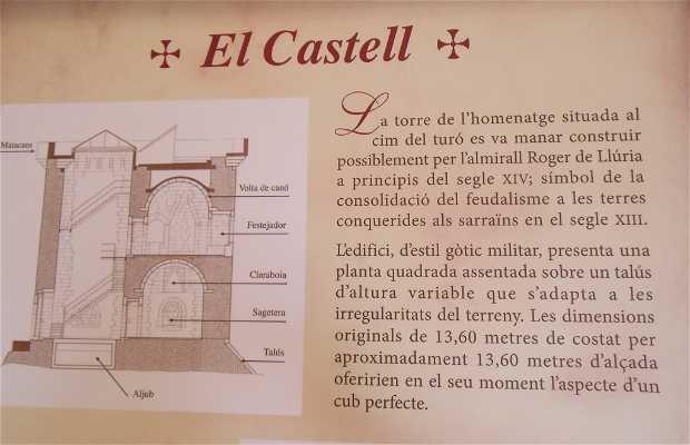 El Castell (interiores y mirador de la torre)