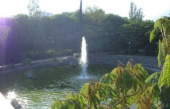 Parc Arroyo du barrage