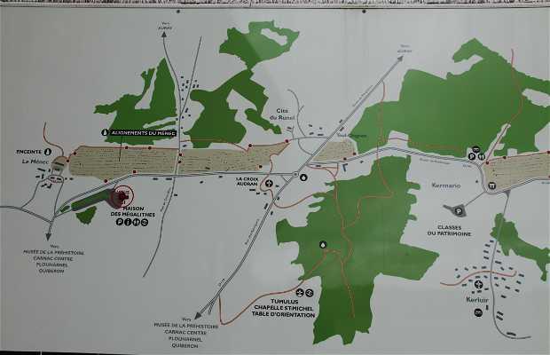 La ruta de los megalitos