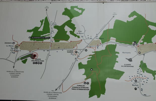 Route des mégalithes