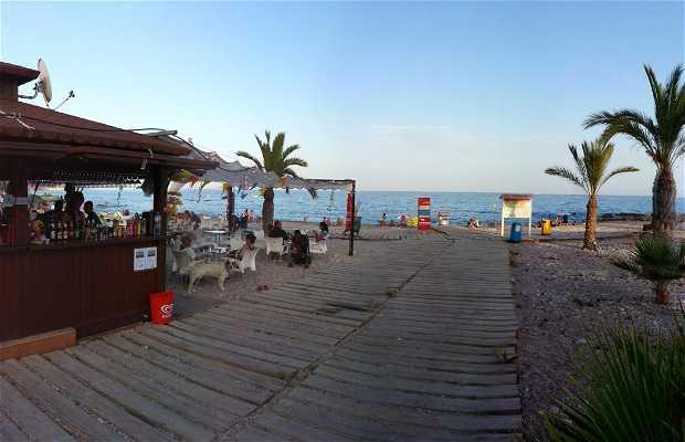 Playa estudiantes en Villajoyosa