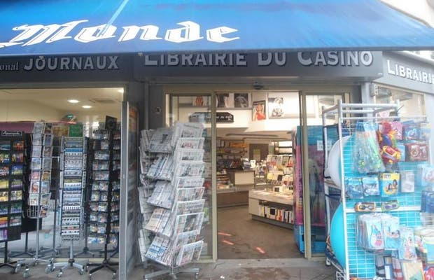 La librairie du Casino