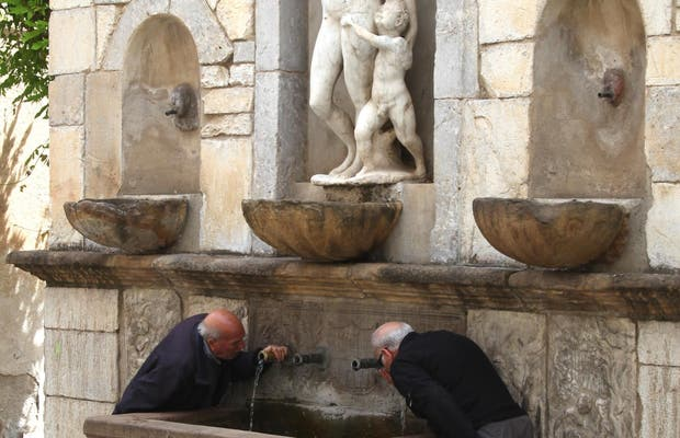 Fontaine Venere Ciprea
