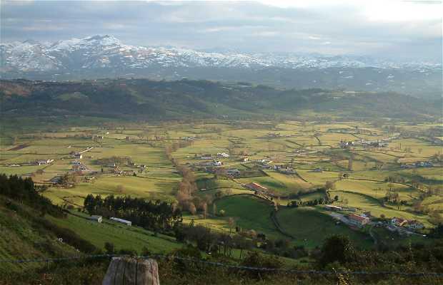 Camino de Santiago en Sariego