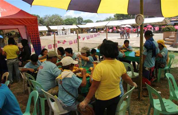 Eat-all-you-can en Manggahan Festival