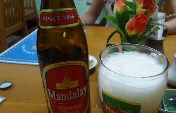Les bières birmanes