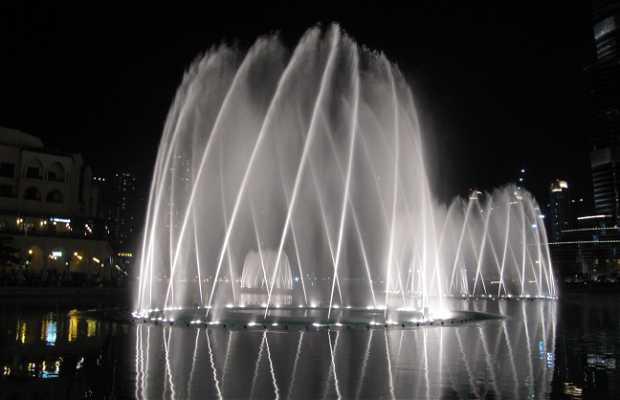 Fontaine de Dubai