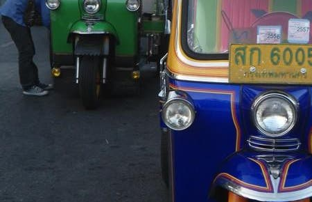 Les rickshaws de Bangkok