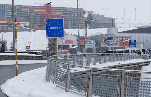 Frontera Andorra-Francia Pas de La Casa
