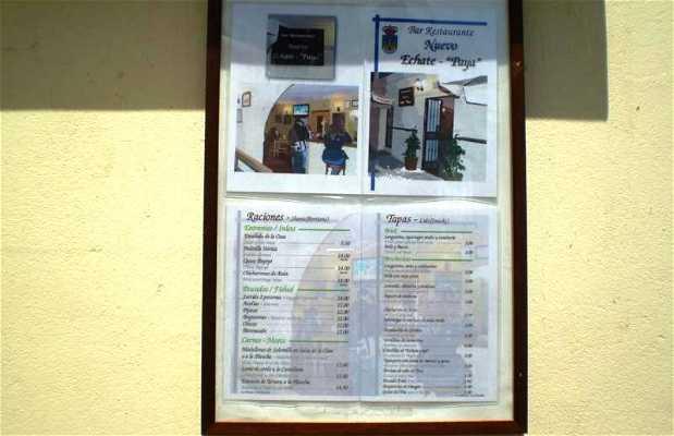 Restaurante Nuevo Echate Payá