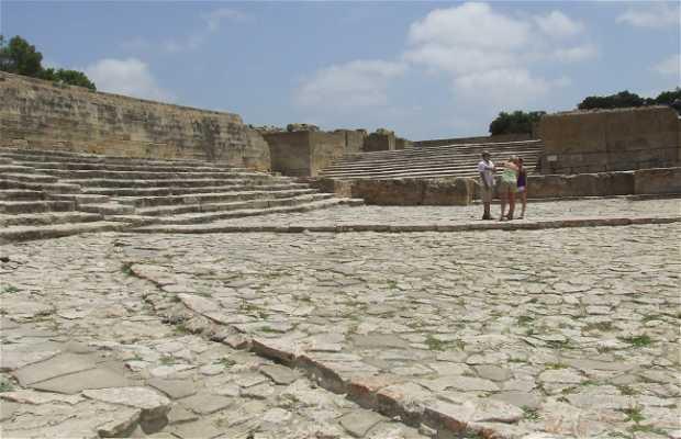 Phaistos Archaeological Site