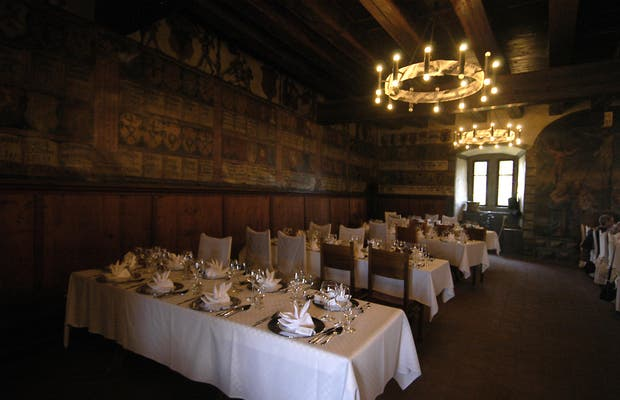 Restaurante Schloss Sargans - Castillo de Sargans