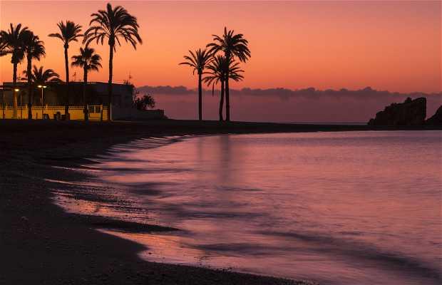 Praia grande Mazarrón