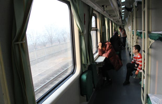 Tren Pekín - Zhangjiajie