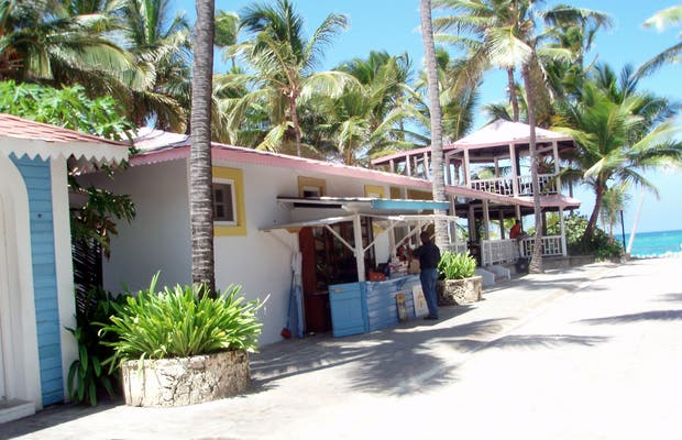 Rua Caribenha dos hotéis RIU