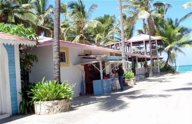 Rue caribéenne des hôtels riu