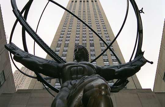 Sculpture d'Atlas
