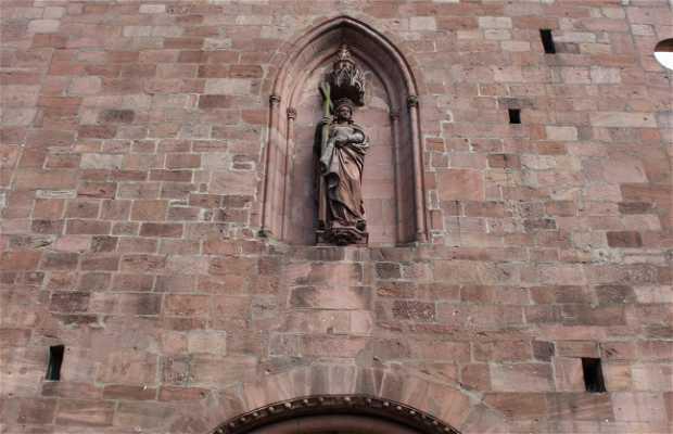 L'église de la Sainte-Croix