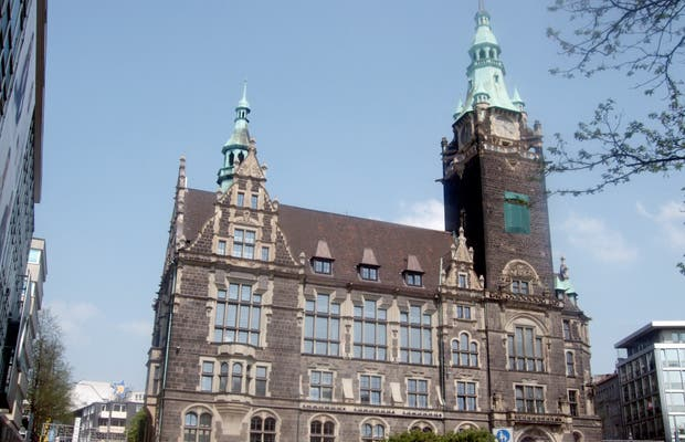 Town Hall of Wuppertal
