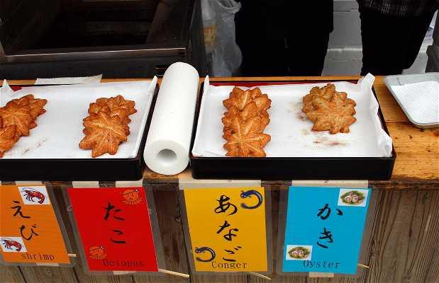Street food di Miyajima