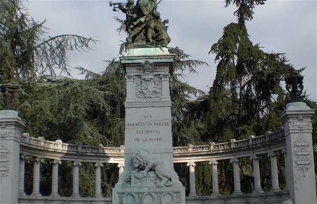 Estatua de los ninos del Rhone