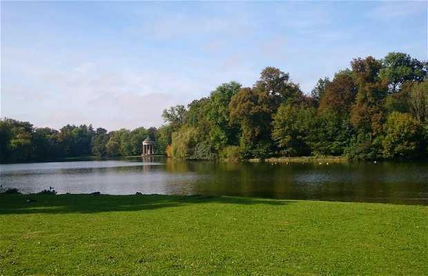 Le parc du château Nymphenburg