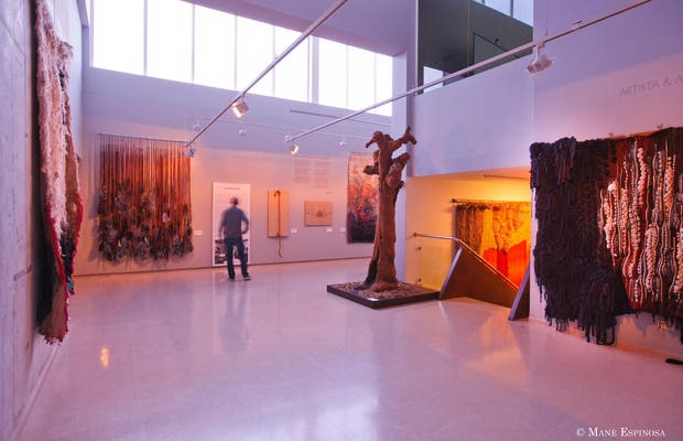 Museos de Sant Cugat - Museos del Tapiz Contemporáneo