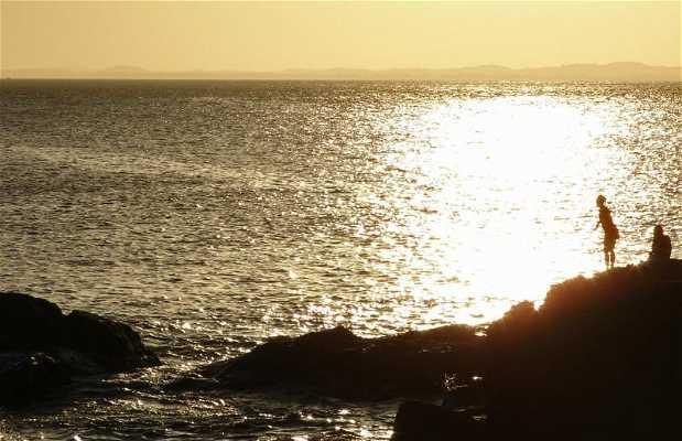 Por-do-sol em Salvador