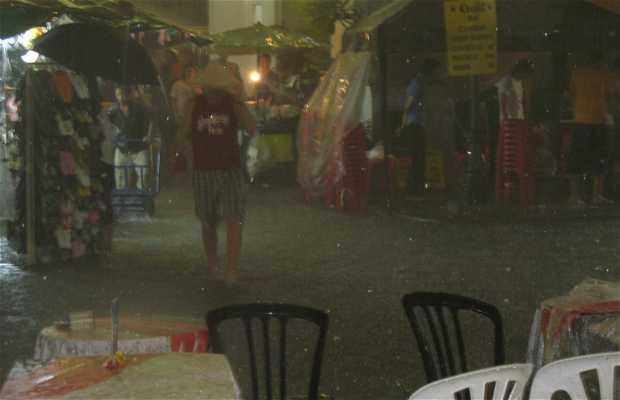 Monzón tropical en Tailandia