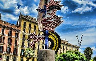 Monumento Barcelona Head