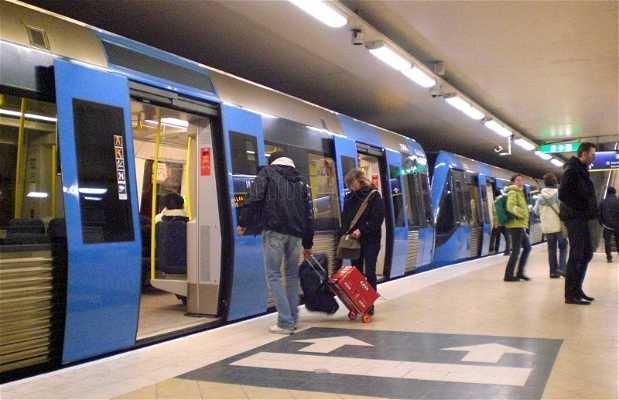 Metrô de Estocolmo