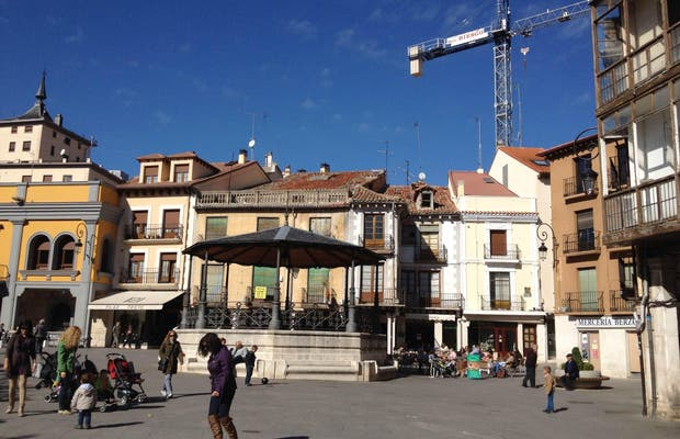 Plaza Mayor Aranda de Duero