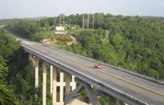 The viewpoint of Bacunayaga