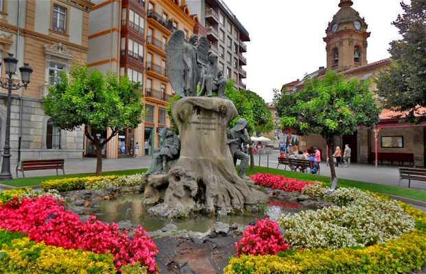 Monumento y Avenida de Cristóbal de Murrieta