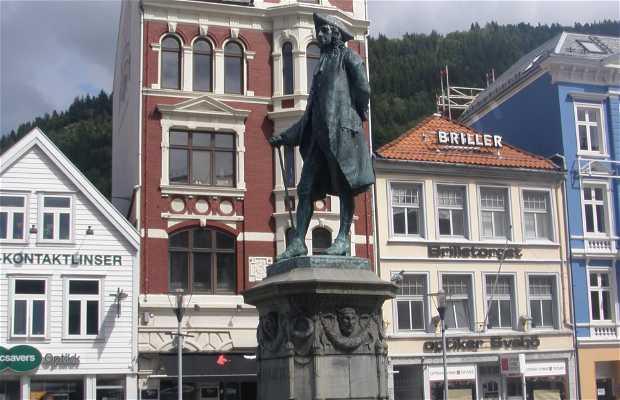 Escultura a Ludvig Holberg