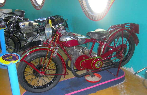 Museum of Classical Motorcycle in Hervás (Cáceres)