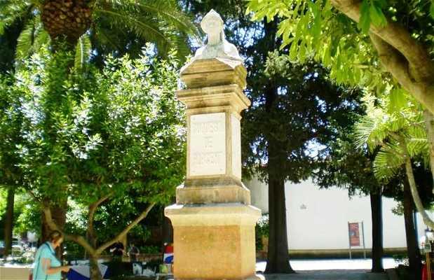 Busto della Duchessa di Parcent a Ronda