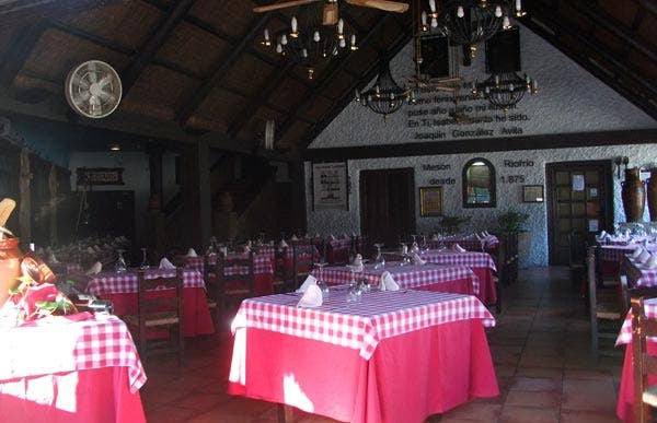 Restaurante Mesón Ríofrio-Venta San isidro