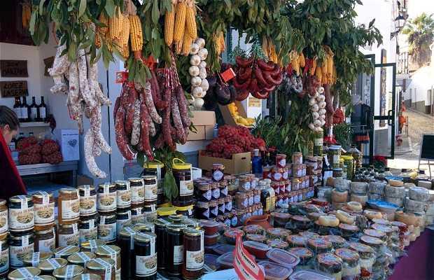 Mercado de productos artesanos y ecológicos