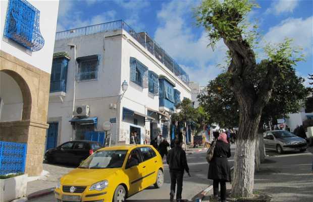 Llegar en taxi a Sidi Bou Said