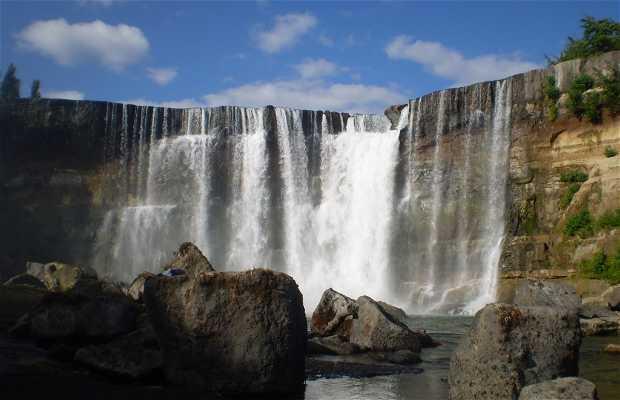 Les chutes de Laja