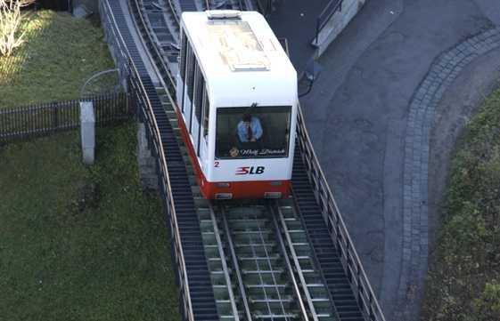 Festungsbahn Funicular Railway