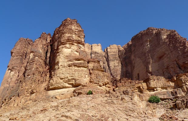 Lawrence' Spring al Wadi Rum