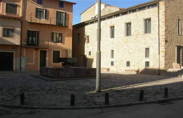 Plaza de la Abadesa Emma