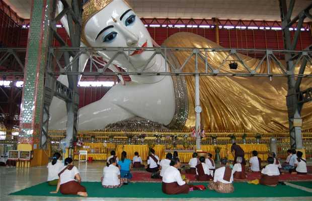 Pagoda Chaukhtatgyi - Buda Reclinando de Yangon